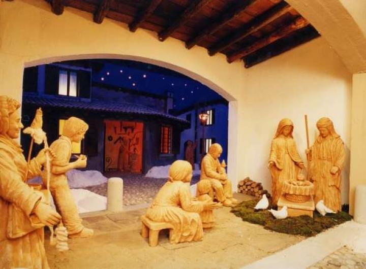 Presepe di Natale di Mariano Comense Foto